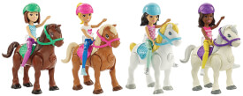 Barbie On The Go Mini Pony + Puppe, sortiert