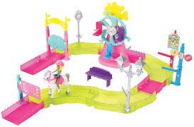Mattel Barbie - On The Go Freizeitpark Spielset