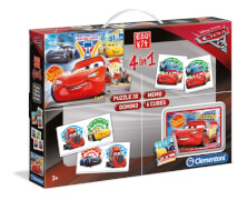 Clementoni Edukit 4 in 1 Cars 3