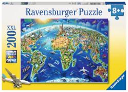 Ravensburger 12722 Puzzle Große weite Welt 200 Teile