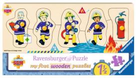 Ravensburger 32372 Feuerwehrmann Sam und seine Freunde, 5 Teile