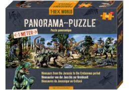 Die Spiegelburg 13081 T-Rex World - Panoramapuzzle, 250 Teile, ab 6 Jahren