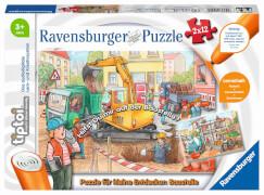 Ravensburger 00049 tiptoi® Puzzle für kleine Entdecker: Baustelle