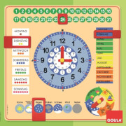 Jumbo D51309 Goula Kalenderuhr