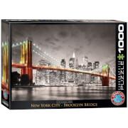 EuroGraphics Puzzle New York City Brooklyn Bridge 1000 Teile