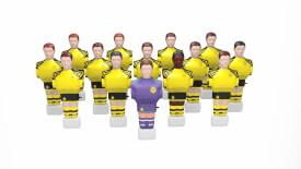 Live Kicker Figurenset Borussia Dortmund