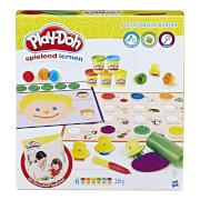Hasbro B3407100 Play-Doh Erste Buchstaben und Wörter
