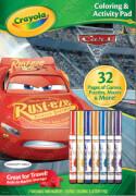 Crayola Cars 3 Ausmal- & Beschäftigungsbogen