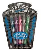 Tattoo Gel Stifte Metallic