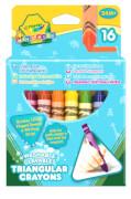 Crayola dreieckige Wachsmalstifte, 16 Stück