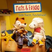 Mats & Frida. Gute Nacht, Kuschelhase!, Pappbilderbuch, 16 Seiten, ab 12 Monaten