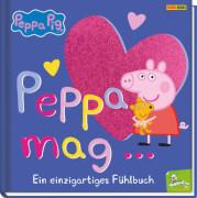 Peppa Pig - Peppa mag.. Fühlbuch