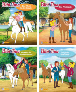 Nelson Mini-Bücher: Bibi und Tina 25-28 (Einzel/WWS), Taschenbuch, 20 Seiten, ab 3-6 Jahre