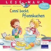 Lesemaus - Band 123: Conni backt Pfannkuchen, Taschenbuch, 24 Seiten, ab 3 Jahre