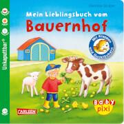 Buch ''Baby Pixi - Band 69: Mein Lieblingsbuch vom Bauernhof: mit Klappen und Gucklöchern'', 16 Seiten, ab 12 Monaten