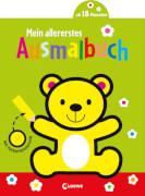 Malbuch,''Mein allererstes Ausmalbuch (Bär)'',felxibler Einband, 24 Seiten,