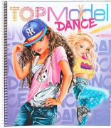 TOPModel DANCE Malbuch