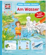 Tessloff WAS IST WAS Kindergarten Malen Rätseln Stickern Am Wasser