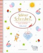 Geschenkpapier-Buch - Schöner schenken: Bunte Geschenkpapiere für Babys und Kinder
