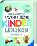 Ravensburger 015351 Das große Ravensburger Kinderlexikon von A bis Z