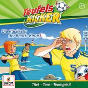 Teufelskicker - Folge 71: Die Rückkehr der Beach Kings! (CD)