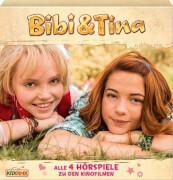 Bibi und Tina: 4 Kinofilm-Hörspiele (CD)