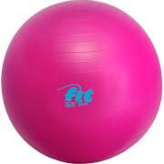 Fit4Fun Gymnastikball 65cm magenta