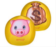 emoji® Knautschball Schwein-Geldsack, # 19 cm
