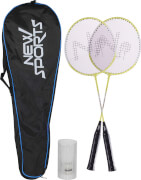 New Sports Badminton-Set Junior in Tasche, 56 cm