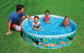 Snap-Set-Pool ''Ocean Reef'', ca. 183 x 38 cm