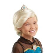 Disney Frozen - Die Eiskönigin Perücke Elsa mit Krone