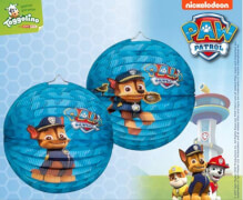 Laterne Paw Patrol, rund Chase, D:23
