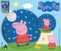 Peppa Pig Laterne rund