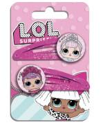L.O.L Surprise 2er Haarspangen, mit Charm