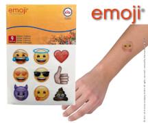 emoji® Glitzer-Tattoos