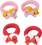 Die Spiegelburg -  Mein kleiner Ponyhof Haargummis, rosa, rot