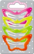 Die Spiegelburg - beautiful Stars Haarclip Schmetterling, neon