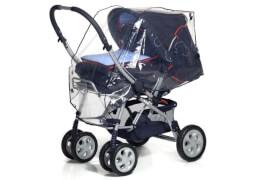 reer 72049 Universal-Regenschutz für Kinderwagen