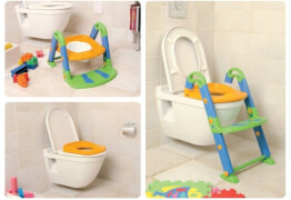 Rotho Toilettentrainer 3-in-1 bunt