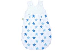 Schlafsack Sterne blue, Größe 90 cm