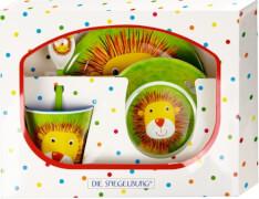 Melamin-Geschenkset Löwe  Freche Rasselbande