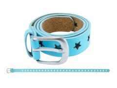Gürtel Sternchen blau 70 cm