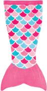 Cuddle Tails Meerjungfrauendecke, PINK S, Pink Dream
