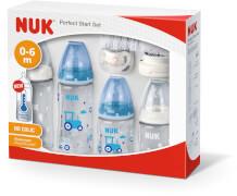 NUK First Choice PlusPerfect Start Set Boy mit Temperature Control