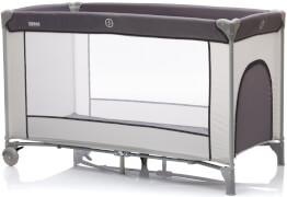 fillikid Reisebett Complete grau 60x120 cm