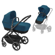 BALIOS S 2in1 BLK River Blue, turquoise