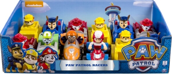 Spin Master Paw Patrol Rescue Racer, Kunststoff, ca. 10x8x6