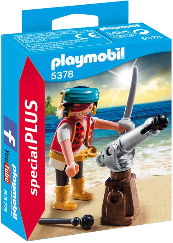playmobil 5378 pirat mit kanone 5378 jetzt kaufen  online